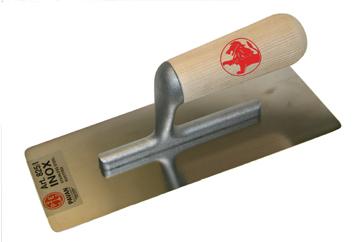 Wooden handle Marmorino trowel